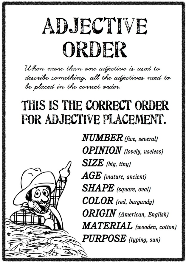 adjective-order-4-poster